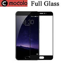 Защитное стекло Mocolo 2.5D 9H на весь экран для Meizu M3 Max черный