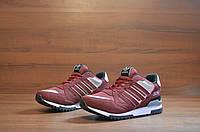 Красные модные кроссовки Adidas ZX 750
