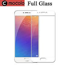 Защитное стекло Mocolo Full сover для Meizu Pro 6 Plus белый