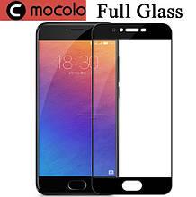 Защитное стекло Mocolo Full сover для Meizu Pro 6 Plus черный
