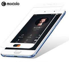 Защитное стекло Mocolo Full сover для Meizu U10 белый