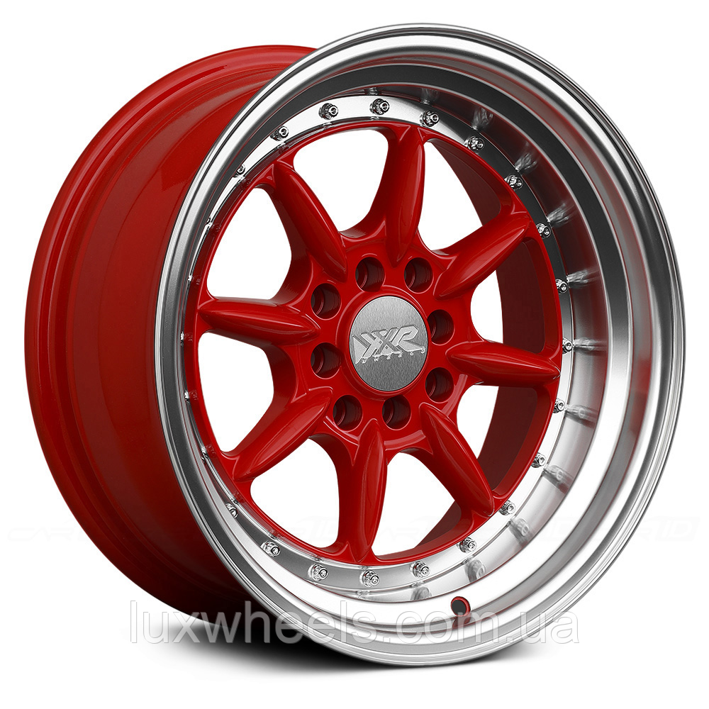 XXR 002.5 Red with Machined Lip
