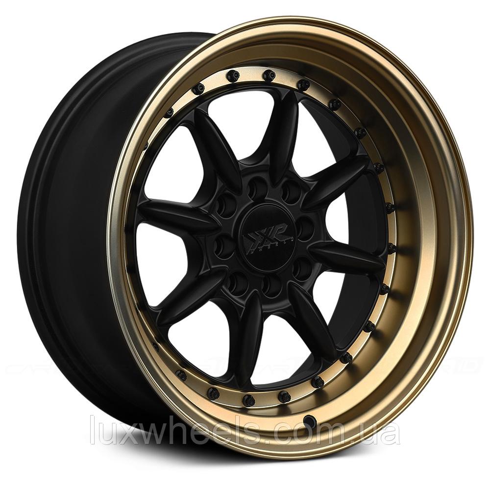 XXR 002.5 Flat Black with Bronze Lip