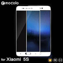 Защитное стекло Mocolo Full сover для Xiaomi Mi 5s белый