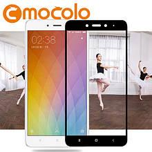 Защитное стекло Mocolo Full сover для Xiaomi Mi 5s черный
