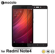 Защитное стекло Mocolo Full сover для Xiaomi Redmi Note 4 черный