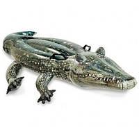 Надувной плот для детей Крокодильчик