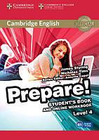 Cambridge English Prepare! 4 Student's Book with Online Workbook (Учебник)