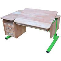 """Детский стол """"Школьник"""" с тумбой из натурального дерева"""