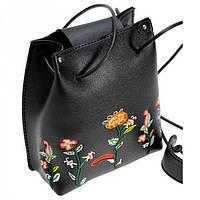 Маленькая сумочка на длинном ремешке с вышивкой Traum арт. 7203-50