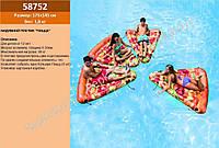 "Плотик ""Пицца"" INTEX, размер 175-145 см, в коробке (ОПТОМ) 58752"