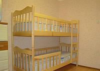 Ліжка двоярусні з Бука, фото 1
