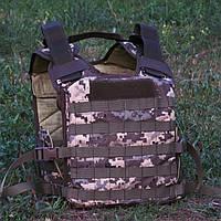 Чехол бронежилета ММ14 Укр Пиксель Plate Carrier