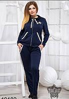 Женский трикотажный спортивный костюм, Мода плюс, фото 1