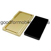 Комплект форм (из металла и мягкой резины) для SAMSUNG G955 Galaxy S8+, для отцентровки и склеивания дисплея со стеклом