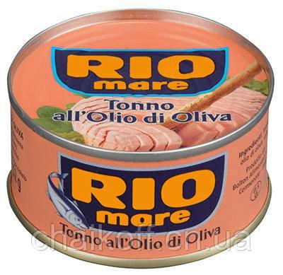 Тунец в оливковом масле RIO mare Tonno all'Olio di Oliva 80g (шт.)