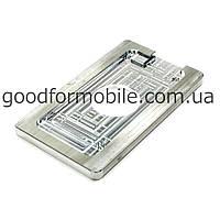 Форма металлическая для APPLE iPhone 5/5C/5S, для фиксации комплекта дисплей + тачскрин при склеивании