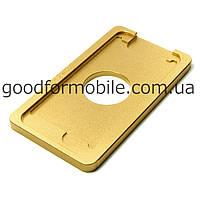 Форма металлическая для APPLE iPhone 6/6S, для фиксации комплекта дисплей + тачскрин при склеивании