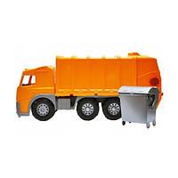 Огромная Машинка Dickie Toys Мусоровоз с баком 3315247, 58 см