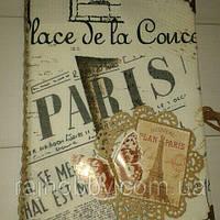 Блокнот скетчбук А5 Париж2, фото 1