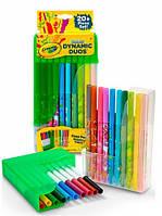 Набор из 20 фломастеров Crayola классических и пастельных цветов (04-6829)