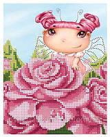 Схема для вышивки бисером Фея роз