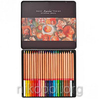 Набор цветных карандашей MARCO Renoir Fine Art 24-ТN, 24 цвета