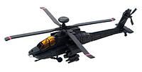 Модель военного вертолета AH-64 Black Apache, 1:125, 4D Master