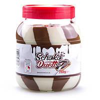 Шоколадно- молочная паста Schoko Duett,750 г (Германия), фото 1
