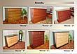 """Большая деревянная кровать """"Марго"""" (200*200см.), массив - сосна, ольха, береза, дуб., фото 5"""