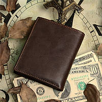 Мужской кожаный кошелек из натуральной кожи(В наличии коричневый), фото 2