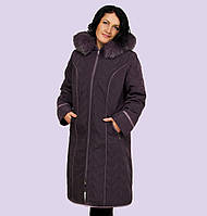 Женское зимние пальто- пуховик. Модель 19-А. Размеры 62-66 f2fc6c13aa2a1