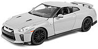 Модель Nissan GT-R, металлик, 1:24, Bburago