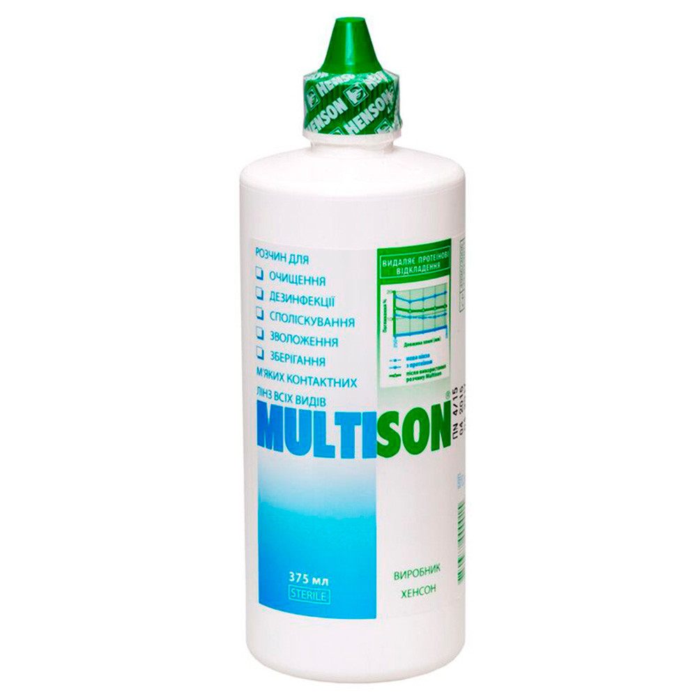 Многофункциональный раствор Multison 375 мл