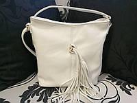 Белая женская сумка, фото 1