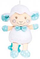 Овечка, мягкая музыкальная игрушка (голубая), Canpol babies