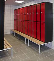 Шкафы для одежды Шкаф для раздевалок Шкафы одежные гардеробные локеры ассортимент Шафа гардеробна металева