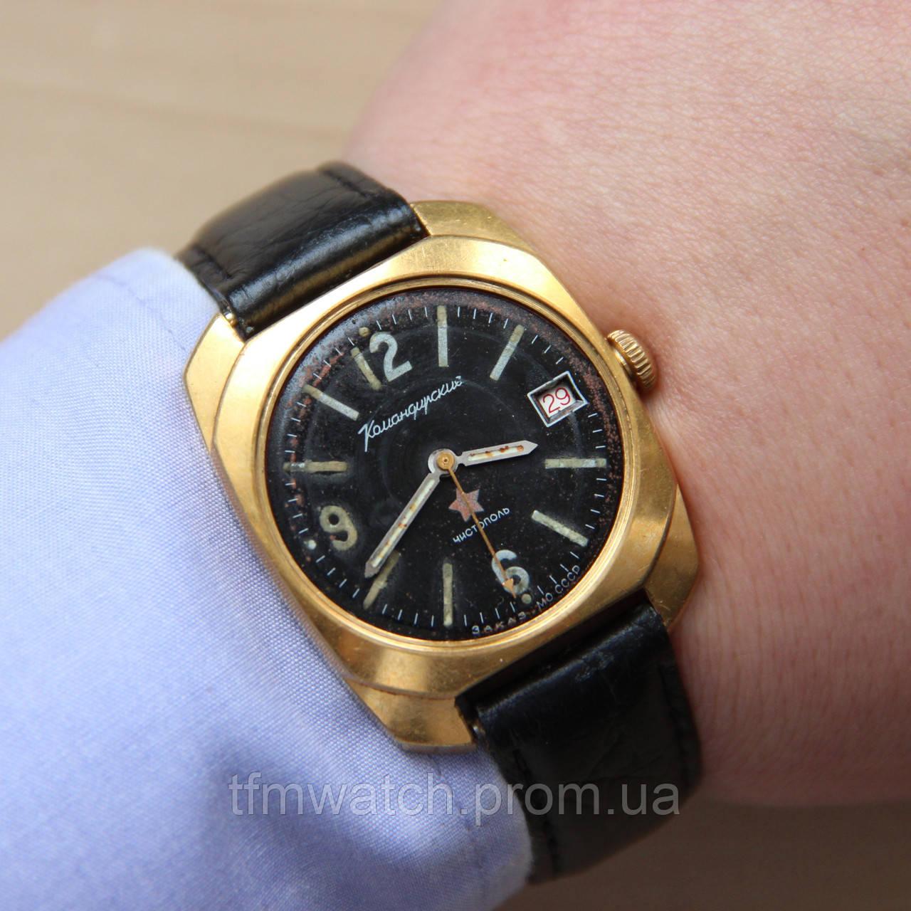 Командирские Чистополь механические часы СССР   продажа, цена в ... 55970cdf85f