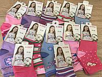 Носки девочка цветные с рисунками 3-7 лет