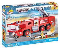Конструктор Пожарная машина в аэропорту, серия Action Town, Cobi