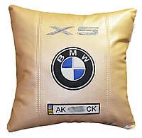 Подушка автомобильная с логотипом BMW