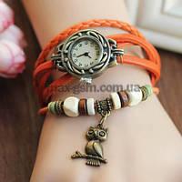 Винтажные женские наручные часы Shambala orange