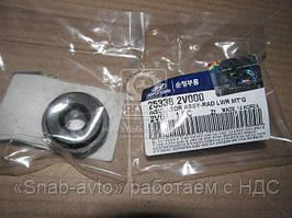 Подушка крепления радиатора нижняя (производство Mobis) (арт. 253362V000), ABHZX