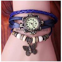 Винтажные женские наручные часы Shambala blue