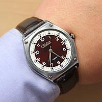 Слава Кварц кварцевые наручные часы СССР , фото 1