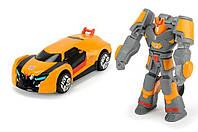 Фигурка и машинка Трансформер Автобот Дрифт, 7 см, Dickie Toys