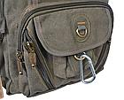 Рюкзак GOLDBE 0107 с карабином Хаки, фото 7