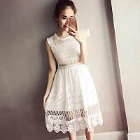 Стильное платье кружево