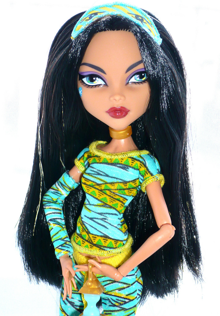 Monster High Dead Tired Cleo De Nile Doll Кукла Монстер Хай Клео де Нил Пижамная вечеринка