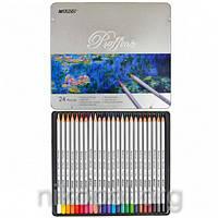 Набор цветных карандашей MARCO Raffine 7100-24TN, 24 цвета
